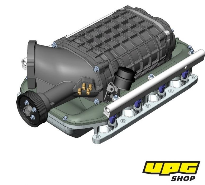 Vortech Centrifugal Supercharger System From Ess Tuning: ESS E63 650i TVS2 Supercharger System
